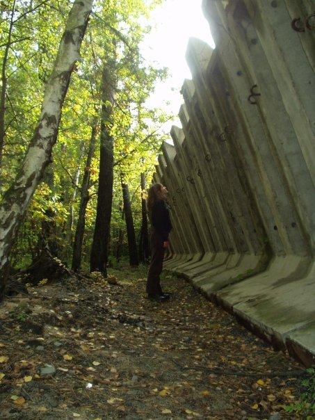 Dryáda na hranici přírody