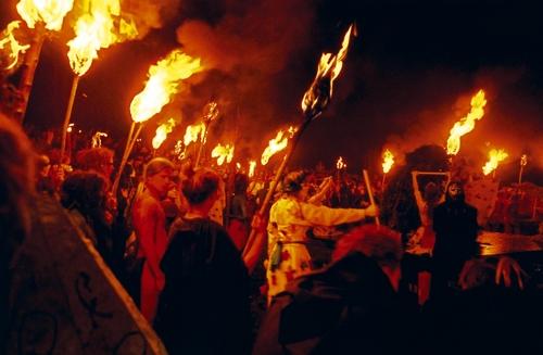 Edinburgh's Beltane Fire Festival. Photo by Paul R Seftel.