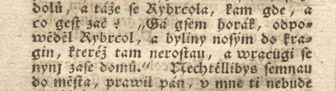 Úryvek z originálu 2. vydání českého romantického románu